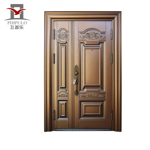 TOP sales new design entrance steel security house safety door steel door philippines manila