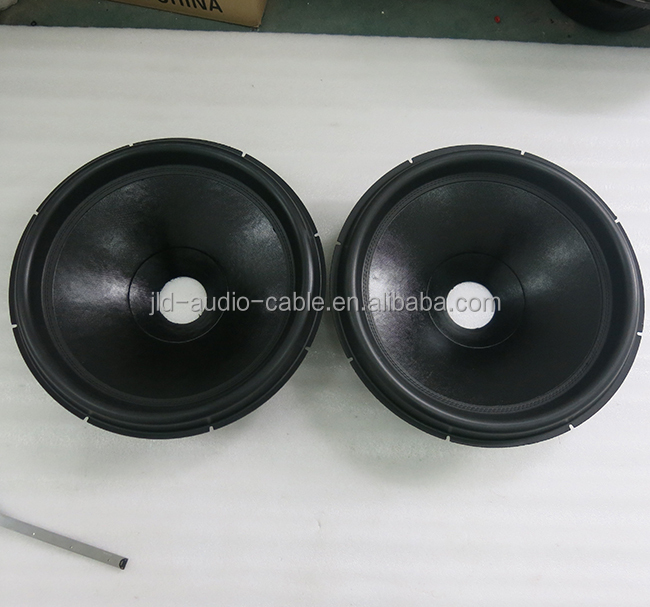 18 inch Non-press paper cone with Best quality subwoofer cones speaker parts paper cone