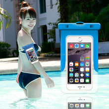 Clear Waterproof Pouch Dry Case Cover For 5.5 inch Phone Camera Mobile phone Waterproof Bags for IPHONE 4 4S 5 5S 6 6S PLUS