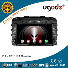 9 inch HD touch screen Android car autoradio for Kia Sorento 2015 car dvd player