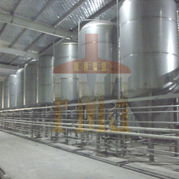 Stainless steel conical fermenter with cooling jacketed for Craft a brew fermenter
