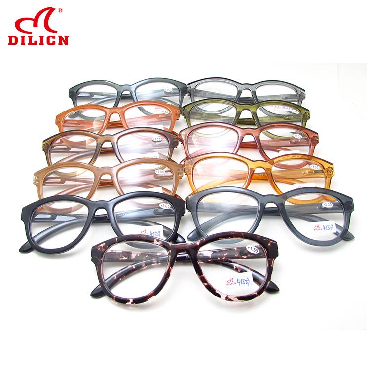 210f919df الحديثة أنيقة القط العين شكل نظارات إطار البلاستيك أطر البصرية قصر النظر  النظارات طويل النظر شفافة