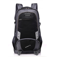 Factory customized canvas sky aoking trekking travel backpack