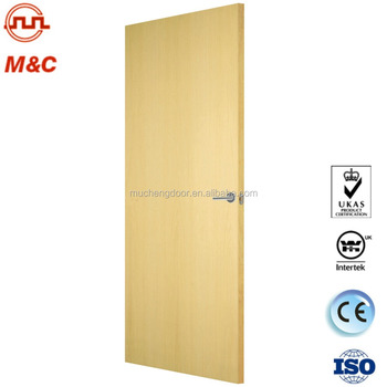 Apartment Interior Fire Rated Wooden Door With Certificate By