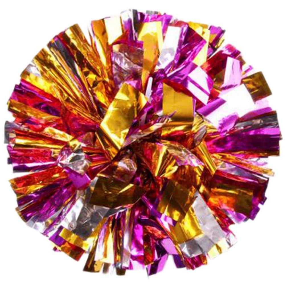 Freedi 1Pc Plastic Cheerleaders Pom Poms Party Costume Accessory Ball Dance Fancy Dress Sports Favor