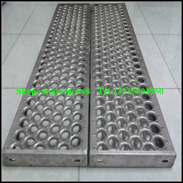 Perforated Anti Skid Plate For Platform Perforated