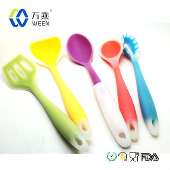 Nuevo producto 2014 excelente electrodom sticos suave utensilios de cocina de silicona importado - Utensilios de cocina de silicona ...