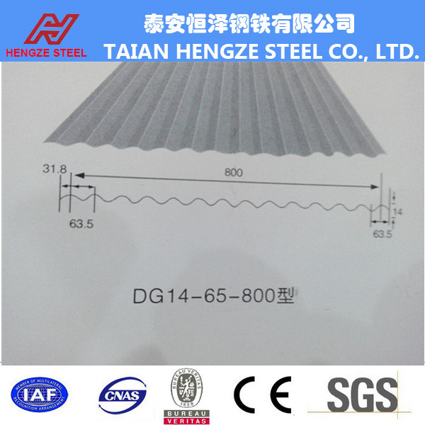 Flat Zinc Roof Sheet Price / Corrugated Iron Roofing Metal Size ...
