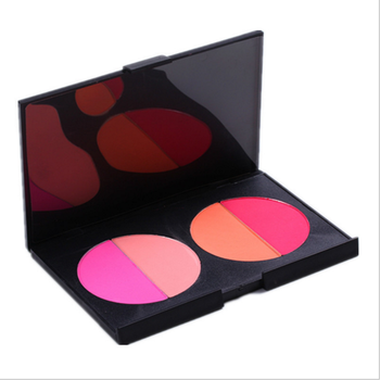 customize your own blush palette 4 Colors Cosmetics makeup no brand blush palette private label blusher