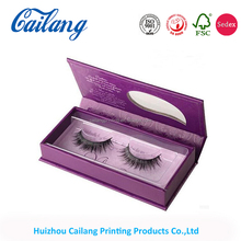 private label plain clear custom empty cardboard eyelash box packaging