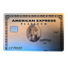 Standard Size American Express Metal Card Amex Black Centurion Card