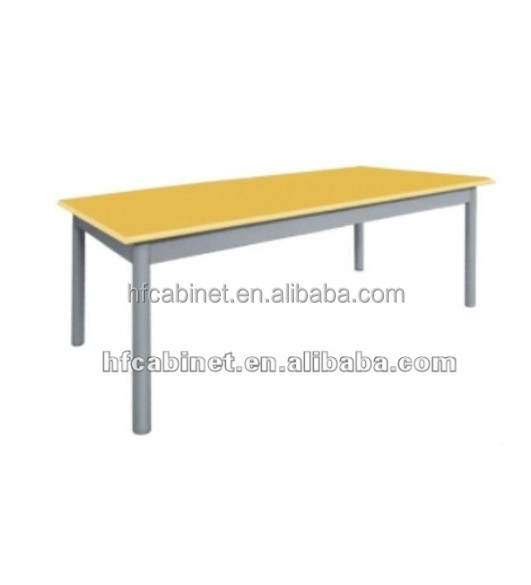 4 Seaters Library Table For MDF TOP Study Reading Table Furniture