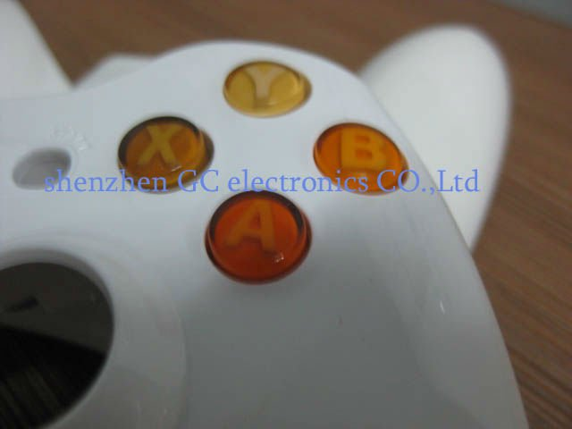 Customized colors , replacement ABXY Buttons for xbox360 wireless controller with repair parts