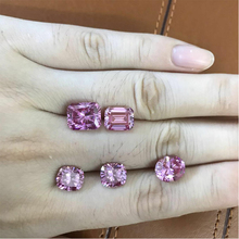 High quality Round, Cushion, Emerald, Oval, Radiant cut VVS clarity Pink Moissanite price Wholesale with samples available