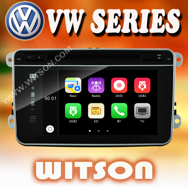 WITSON car audio player for VW EOS (2006-2011) Unique New Flat Panel Design