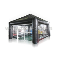 China Manufacturer Outdoor Inflatable Transparent Advertising Tent Inflatable Cube Tent