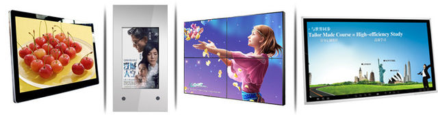 43 inch RK3288 2GB+8GB hardware capacitive touch screen big size wall mount LCD digital signage