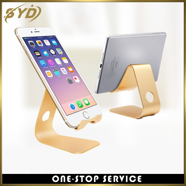 Creative design phone stand aluminum mobile phone stand for ipad