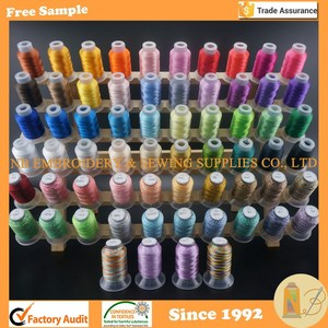 High Quality 64 Spools Polyester Embroidery Machine Thread