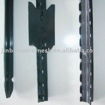Galvanized Or Pvc Coated Steel Fence Post(square Post,T Bar Post ...