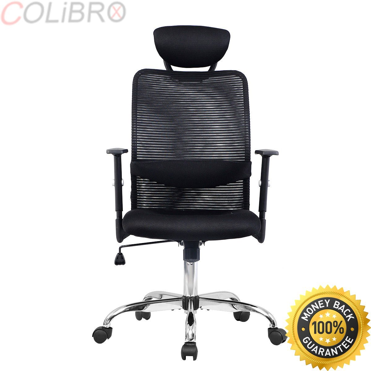 COLIBROX--Modern Ergonomic Mesh High Back Executive Computer Desk Task Office Chair Black. cheap office chairs. office chairs walmart. best ergonomic task chairs. black desk chair amazon.