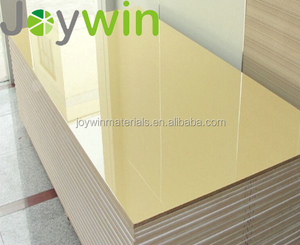 2017 High Gloss UV MDF/HDF UV Panel for Sliding Door