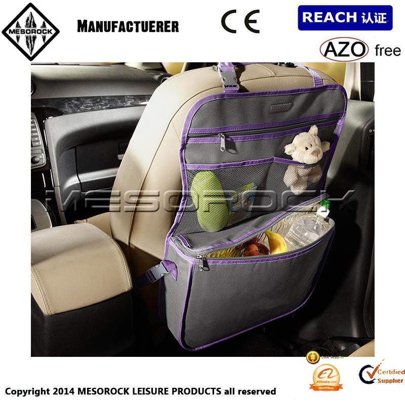 Car Seat Organiser Storage Bag For Kids Toys Maps Etc Cooler