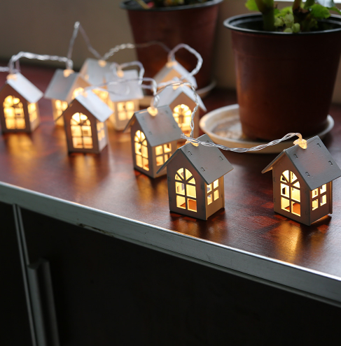 Hot Sale Holiday Christmas White House Decorative Indoor LED USD String Lights