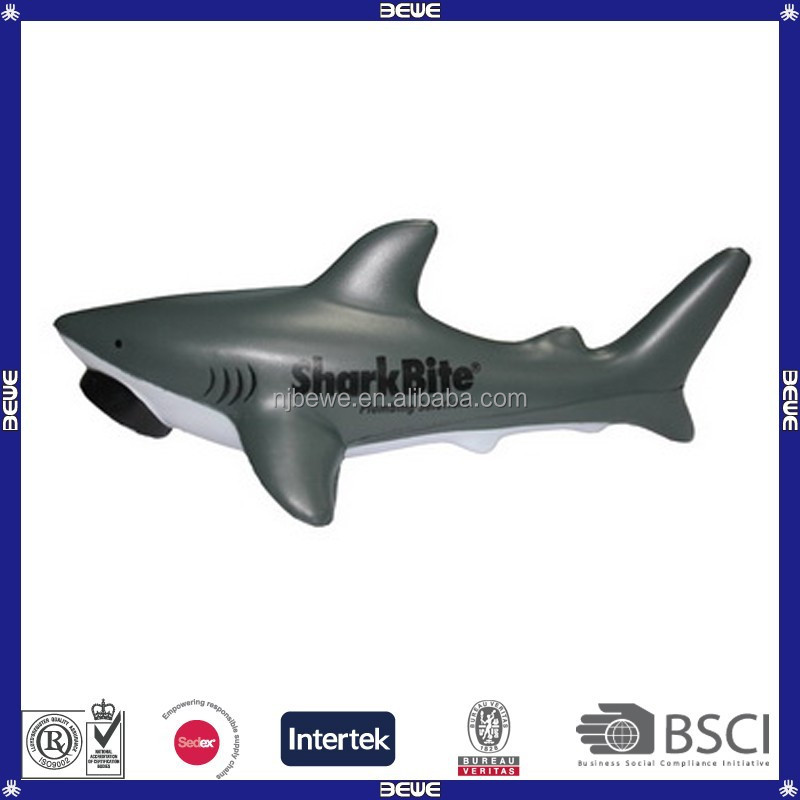 advertising customized printing pu shark