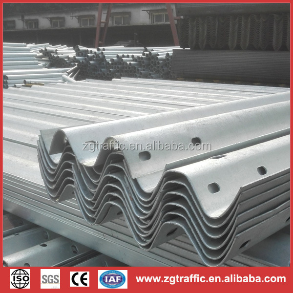 zhongguan highway guardrail with competitive price