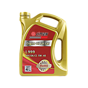 High Performance synthetic engine oil wholesale 5W40 motor auto lubricants