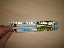 design for promotional floater inside floating action pen