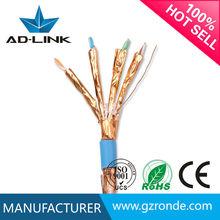 Sıcak Satmak Promosyon 100 M cat7 sftp cat6A kapalı ağ ethernet kablosu lan patch kablo utp ftp
