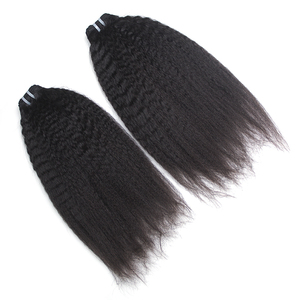 Best Selling Factory Price Unprocessed brazilian hair extension natural colour yaki straight hair weft