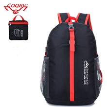 COQBV 2017 comfortable customized polyester lightweight foldable backpack
