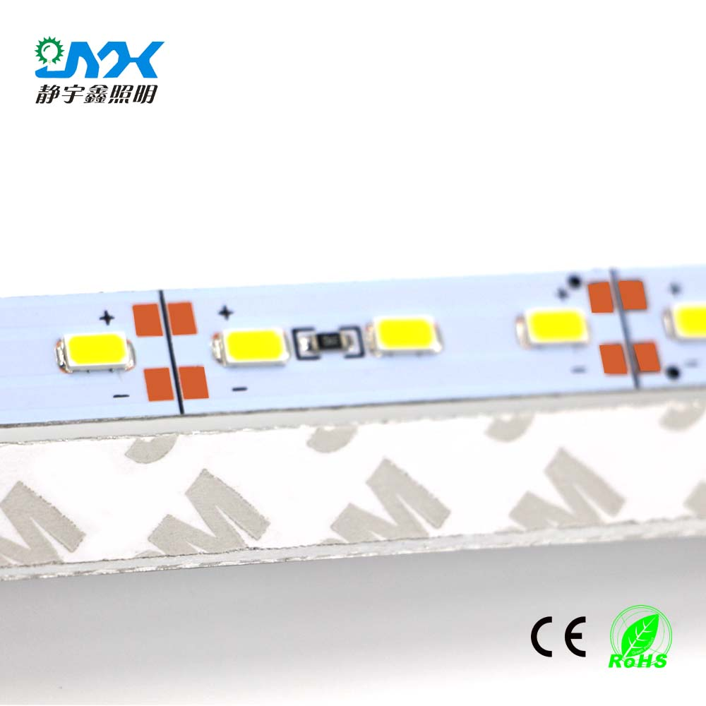 1m Dc12v 72leds  M Led Bar Light 5730 5630 With Aluminum Pcb 5050 Led Rigid Hard Strip Cabinet