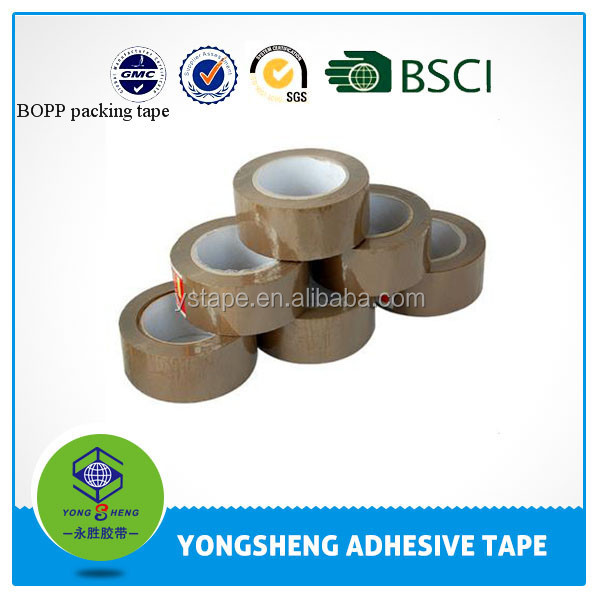 Bopp tan color packing tape jumbo <strong>roll</strong>