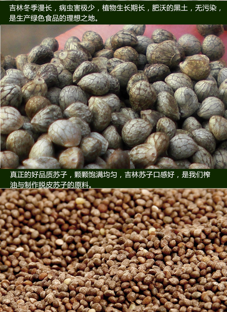 Delicious Perilla Seed Powder