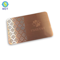 metal visit card special ink avoid finger prints