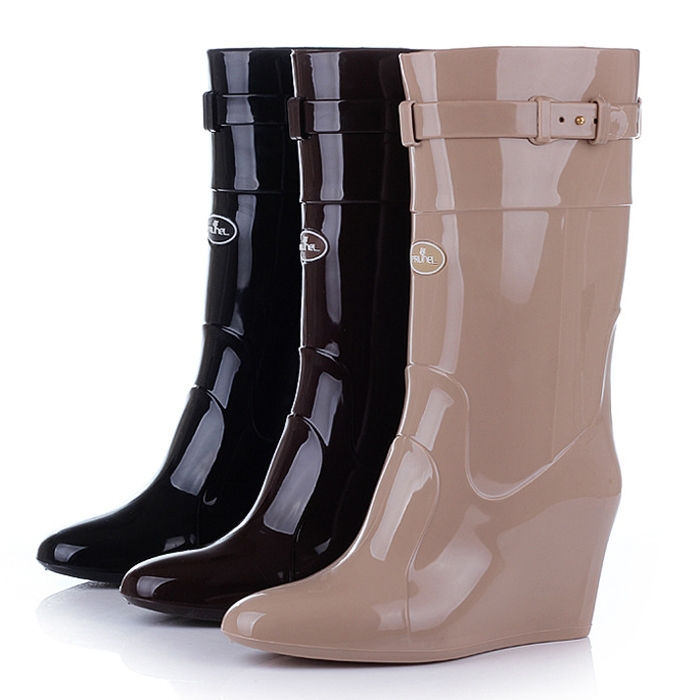 66b055f1ed5 Buy wedge rain boots   OFF61% Discounted