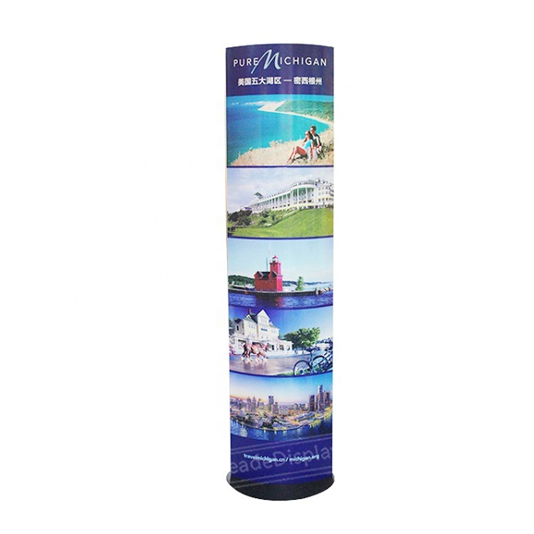 Hot Sale Factory Direct Price Professional Manufacturer Cardboard Totem Display Stand