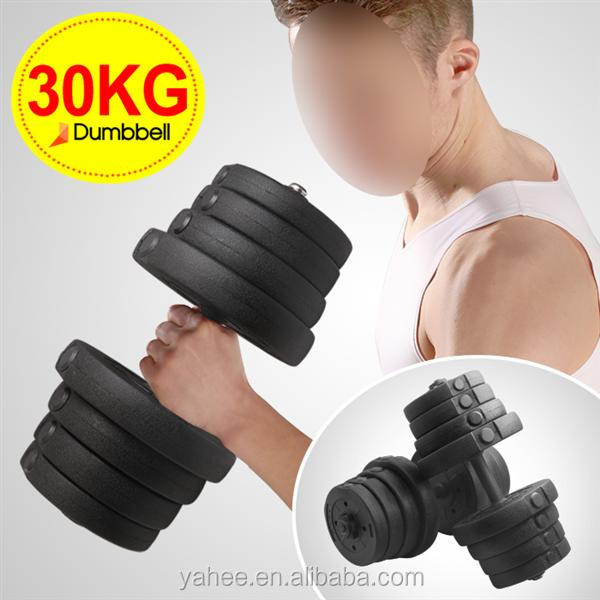 Man Workout Body Building Training Home Dumbbell Set 30 KG