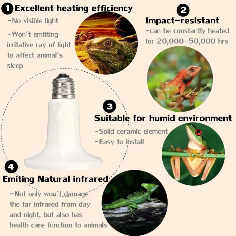 ceramic electric ceramic bulb e27 heater