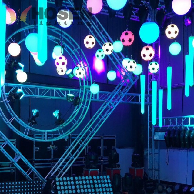 China Factory directly sell led Stage equipment machine led kinetic football light