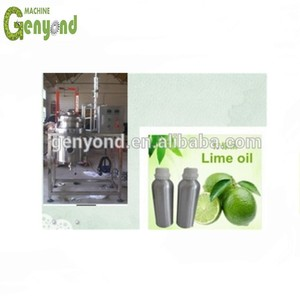 kaffir lime essential oil extraction machine