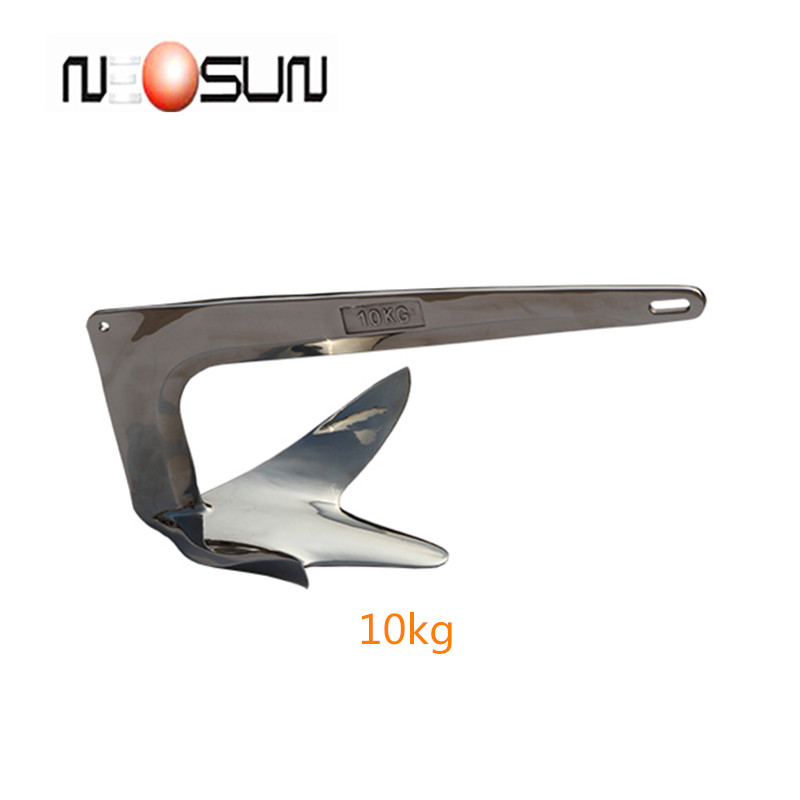 Wholesale Stainless steel small boat / yacht / ship bruce anchor price from 1kg to 50kg