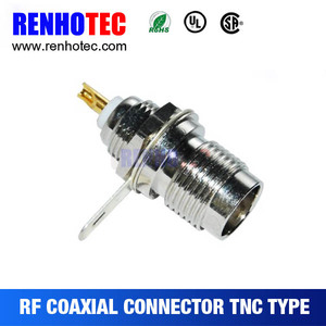 welding cable coax connector tnc female straight auto electrical connector