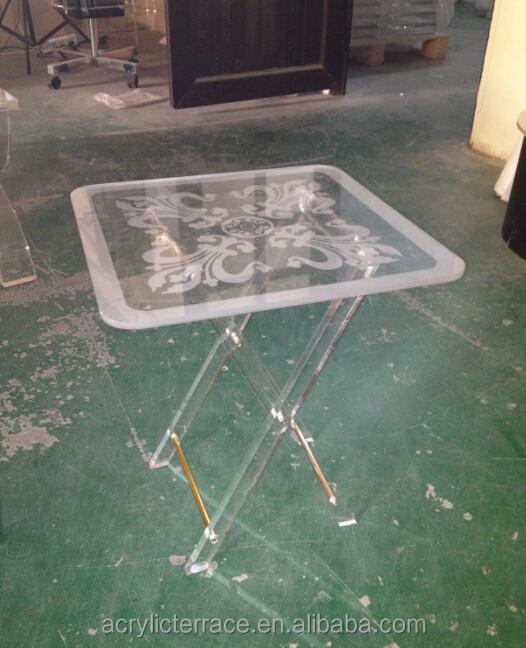 Acrylic Folding Snack Table, Acrylic Folding Snack Table Suppliers ...