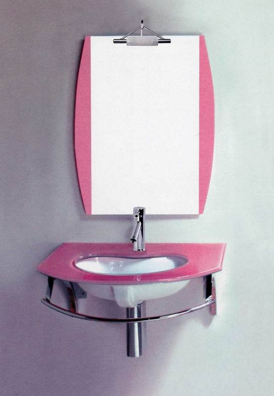 Simple style stainless steel glass wash basin mirror for Wash basin mirror price