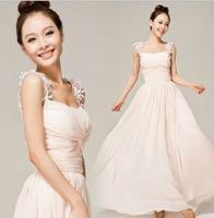 Z60539W Fashion sweety Bridesmaids Dresses long wedding dress